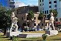Gladiators statues Durrës Albania 2018 1.jpg