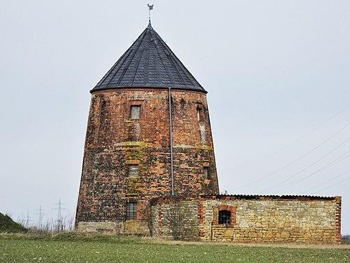Gleina-2 Turmwindmühle Aufnahme MEH Bergmann
