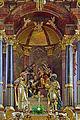 Gmunden - Pfarrkirche Jungfrau Maria und Erscheinung des Herrn - Detail Dreikönigsaltar - 1678.jpg
