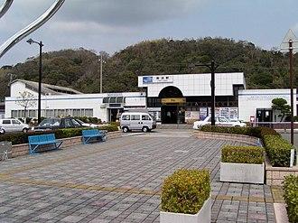 Gobō Station - Gobō Station, April 2005