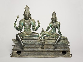 God Shiva and Goddess Uma Seated with Their Son, Skanda (Somaskanda).jpg