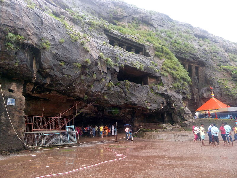Goddess Ekvira Temple and karla Caves.jpg