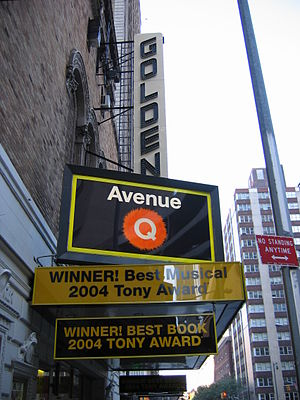 Avenue Q - Avenue Q at the John Golden Theatre on Broadway
