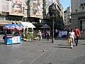 Golub ispred američke čitaonice u čika ljubinoj - panoramio.jpg