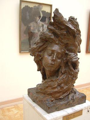 Anna Golubkina - The Mist, 1899