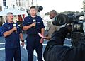 Good Morning Antigua interviews USCGC Diligence sailors -- 110307-G-4702D-014.jpg