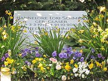 Grab Von Loki Und Helmut Schmidt