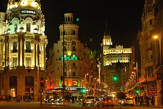 thoroughfare in Madrid, Spain