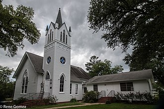 National Register of Historic Places listings in DeSoto Parish, Louisiana - Image: Grand Cane United Methodist Church (1 of 1)