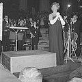 Grand Gala du Disque , Renata Tebaldi tijdens optreden, Bestanddeelnr 914-3536.jpg