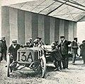 Grand Prix de l'ACF 1906, Albert Clément au pesage avant l'épreuve.jpg