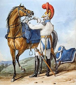 Grande Armée - 2nd Regiment of Carabiniers Squadron Chief
