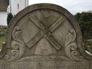 Talking Gravestones of Amrum - Gravestone of miller Erk Knudten