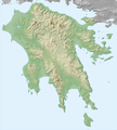Greece (ancient) Peloponnesus (relief-cropped).png