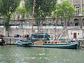 Green boat, Paris 6 September 2015.jpg