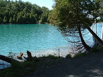 Green Lakes State Park - Image: Greenlake