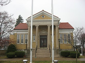 National Register of Historic Places listings in Decatur County, Indiana - Image: Greensburg Carnegie Public Library