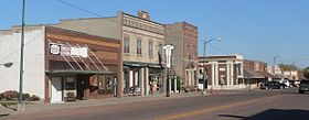 Gregory, SD W side Main St from 5th St.JPG