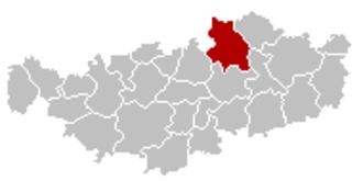 Grez-Doiceau - Image: Grez Doiceau Brabant Wallon Belgium Map