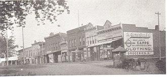 Griggsville, Illinois - Image: Griggsville Square