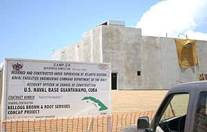 Camp Delta (Guantanamo Bay) - Camp six, under construction