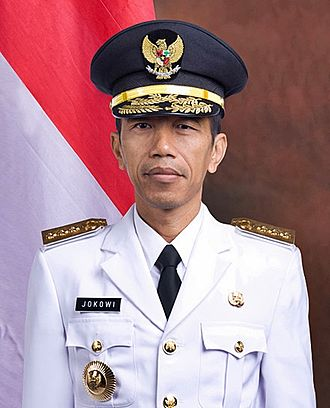 Joko Widodo - Joko Widodo in his official portrait as Governor of Jakarta (2012)