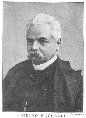 Guido Baccelli - Image: Guido Baccelli, da L'Illustrazione Italiana, 16 gennaio 1916, p. 62