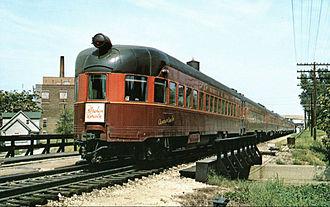 Abraham Lincoln (train) - Gulf Mobile and Ohio's Abraham Lincoln ca.1970