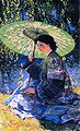 Guy Rose - The Green Parasol.JPG