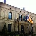 Hôtel de ville de Prades - Château Pams entrée.JPG