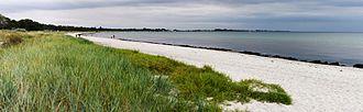 Höllviken - Höllviken's popular beach by the Baltic sea