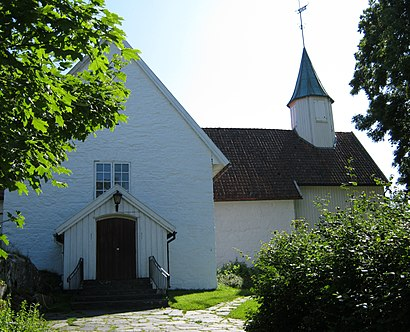How to get to Høvåg Kirke with public transit - About the place