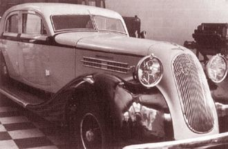 Hispano-Argentina - 1938 Hispano-Argentina prototype vehicle