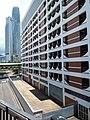 HK 上環 Sheung Wan Central footbridge view Rumsey Street Multi-Storey Car Park July 2019 SSG 02.jpg