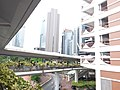 HK 上環 Sheung Wan north 干諾道中 Connaught Road Central Rumsey Street Multi-Storey Car Park morning August 2019 SSG 11.jpg
