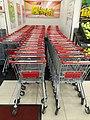 HK CWB Causeway Bay JP Plaza mall Wellcome Supermarket buying carts April 2021 SS2.jpg