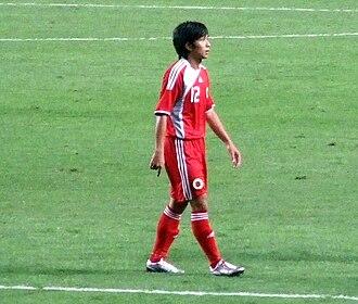 Lo Kwan Yee - Lo Kwan Yee playing for Hong Kong against Japan in 2010