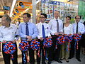 HK SW 119 Queen's Road West Park'n Shop Grand Open Ribbon-cutting ceremony Aug-2012 086.JPG