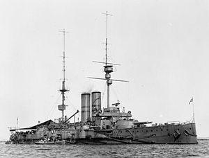 HMS Africa (1905) - Image: HMS Africa