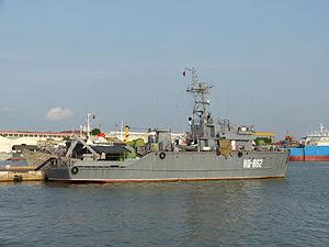 Sonya-class minesweeper - HQ-862, a Sonya-class minesweeper of Vietnam People's Navy