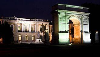 Brompton, Kent - Image: HQ Royal School of Military Engineering