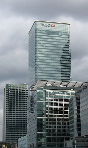 HSBC Tower, the international headquarters for...