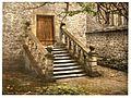 Haddon Hall, Dorothy Vernon's Steps, Derbyshire, England-LCCN2002696688.jpg