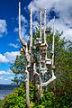 Haida Gwaii (Queen Charlotte Islands) - Graham Island - a flock of unique birdhouses - (20939902393).jpg