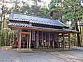 Haiden of Kashima Amatarashiwake-jinja shrine.JPG