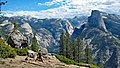 Half Dome & Yosemite Valley (Sierra Nevada Mountains, California, USA) 1.jpg