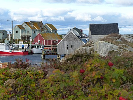The community of Peggy's Cove is a major tourist attraction. Halifax, NS, Canada - panoramio (6).jpg