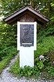Hallstatt - Salzberg, Ramsauer-Denkmal.JPG