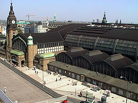 Image illustrative de l'article Gare centrale de Hambourg