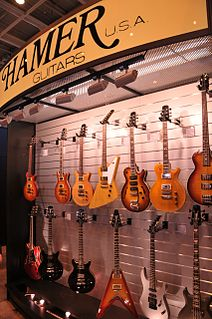Hamer Guitars Electric guitar manufacturer